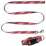 Little Earth Arizona Cardinals Collar and Leash Set