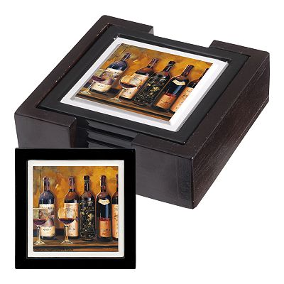 Thirstystone Red Wine Coaster Set
