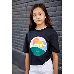 Girls 7-16 Levi's® Logo Graphic Boxy Fit Tee