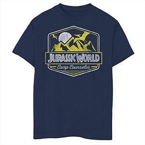 Boys 8-20 Jurassic World Camp Counselor Emblem Graphic Tee