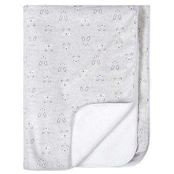Just Born Elephant Velboa Blanket
