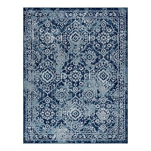 KHL Rugs Tiera Transitional Damask Area Rug
