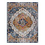 KHL Rugs Britney Traditional Medallion Area Rug