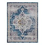 KHL Rugs Kaitlyn Traditional Medallion Area Rug