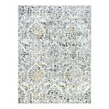 KHL Rugs Kathryn Transitional Damask Area Rug