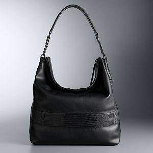 Simply Vera Vera Wang Letta Hobo Bag