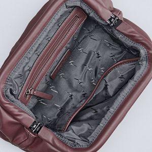 Simply Vera Vera Wang Pleated Puff Crossbody Bag
