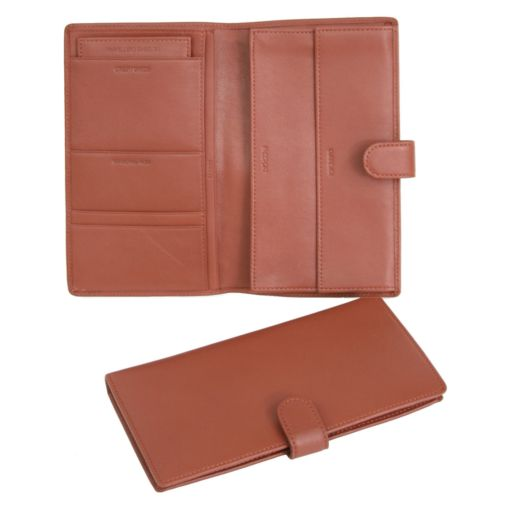 Royce Leather Deluxe Classic Passport Case