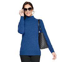 Croft & Barrow Womens Extra Soft Turtleneck Sweater Deals