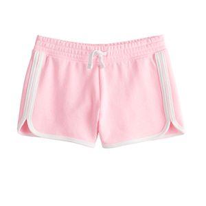 Girls 4-20 SO® Favorite Fleece Dolphin Shorts in Regular & Plus Size
