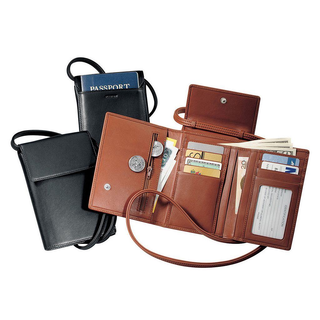 Royce Leather Deluxe Passport Case