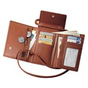 Royce Leather Deluxe Passport Case