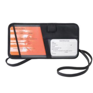 Royce Leather Security Passport Case