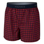 Boys 6-20 Hanes Ultimate® 4-Pack Woven Boxers