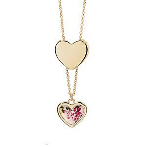 LC Lauren Conrad Hidden Heart Locket & Earring Set