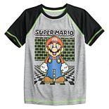 Boys 4-12 Jumping Beans® Super Mario Active Raglan Tee