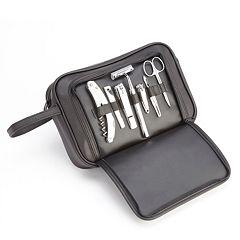Royce Leather Toiletry & Grooming Kit