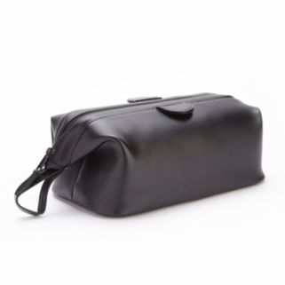 Royce Nappa Leather Deluxe Toiletry Bag