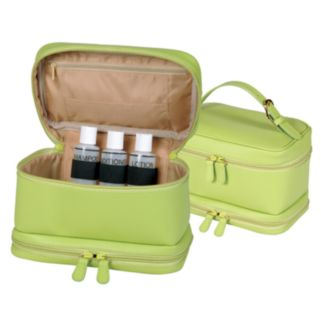 Royce Leather Cosmetic Travel Case