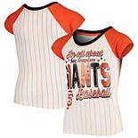 Youth 5th & Ocean by New Era White San Francisco Giants All About Baseball T-Shirt