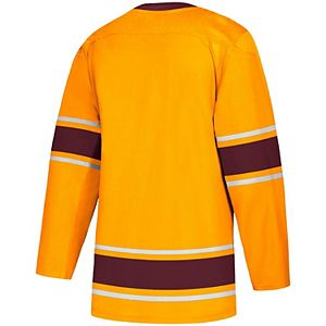 Men's adidas Gold Arizona State Sun Devils Replica Hockey Jersey