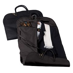 Royce Leather 44-Inch Neutral Garment Bag