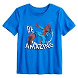 """Boys 4-12 Jumping Beans® Marvel Spider-Man """"Be Amazing"""" Graphic Tee"""
