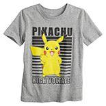 "Boys 4-12 Jumping Beans® Pokémon Pikachu ""High Voltage"" Graphic Tee"