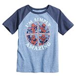 Boys 4-12 Jumping Beans® Marvel Spider-Man Raglan Graphic Tee