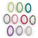 Girls Capelli 10-Pack Coil Hair Ties