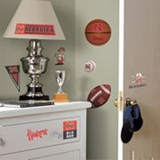 Nebraska Cornhuskers Wall Decals