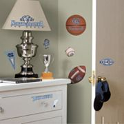 North Carolina Tar Heels Wall Decals