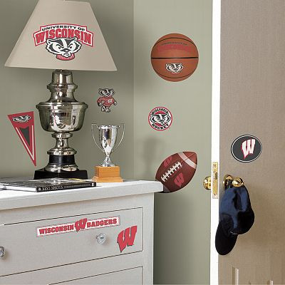 Wisconsin Badgers Wall Decals