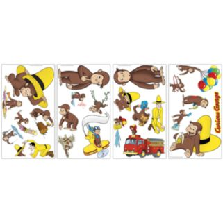 Curious George Wall Decals