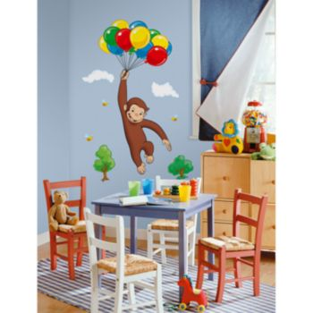 Curious George Wall Decal