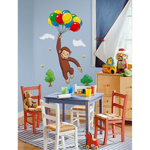 Curious George™ Wall Decal