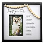 """New View Gifts & Accessories Love Never Fails Beaded 4"""" x 6"""" Garland Frame"""