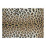 Couristan Dolce Amur Leopard Print Indoor Outdoor Area Rug