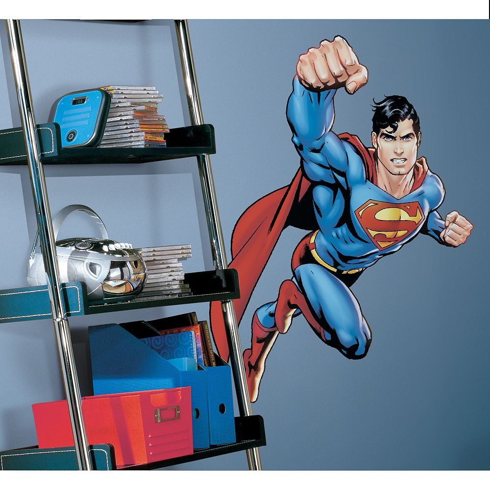 Comics superman wall decal dc comics superman wall decal amipublicfo Choice Image