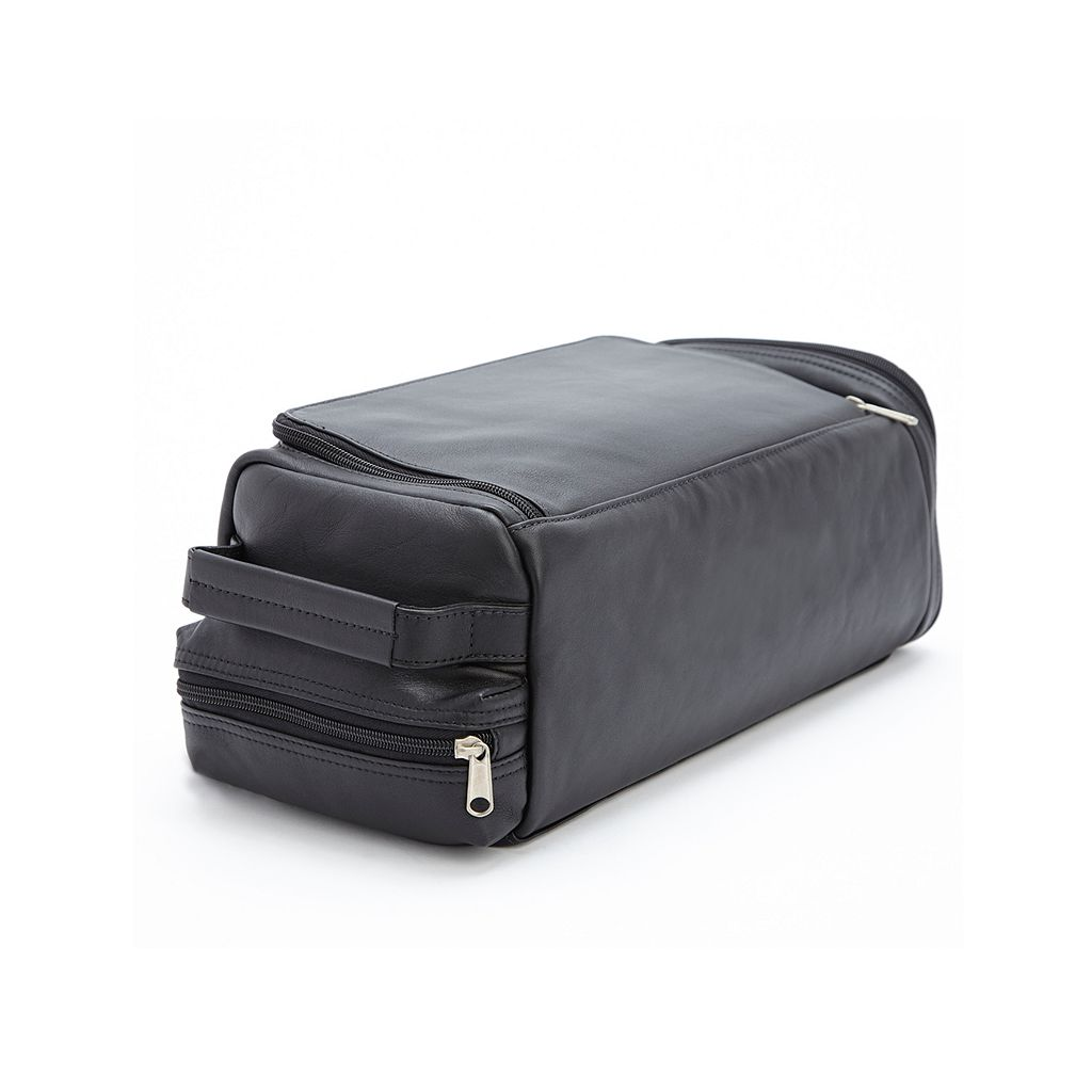 Royce Leather Golf Shoe and Accessory Bag