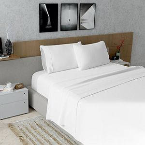Color Sense 300 Thread Count Wrinkle Resistant Sateen Sheet Set or Pillowcases