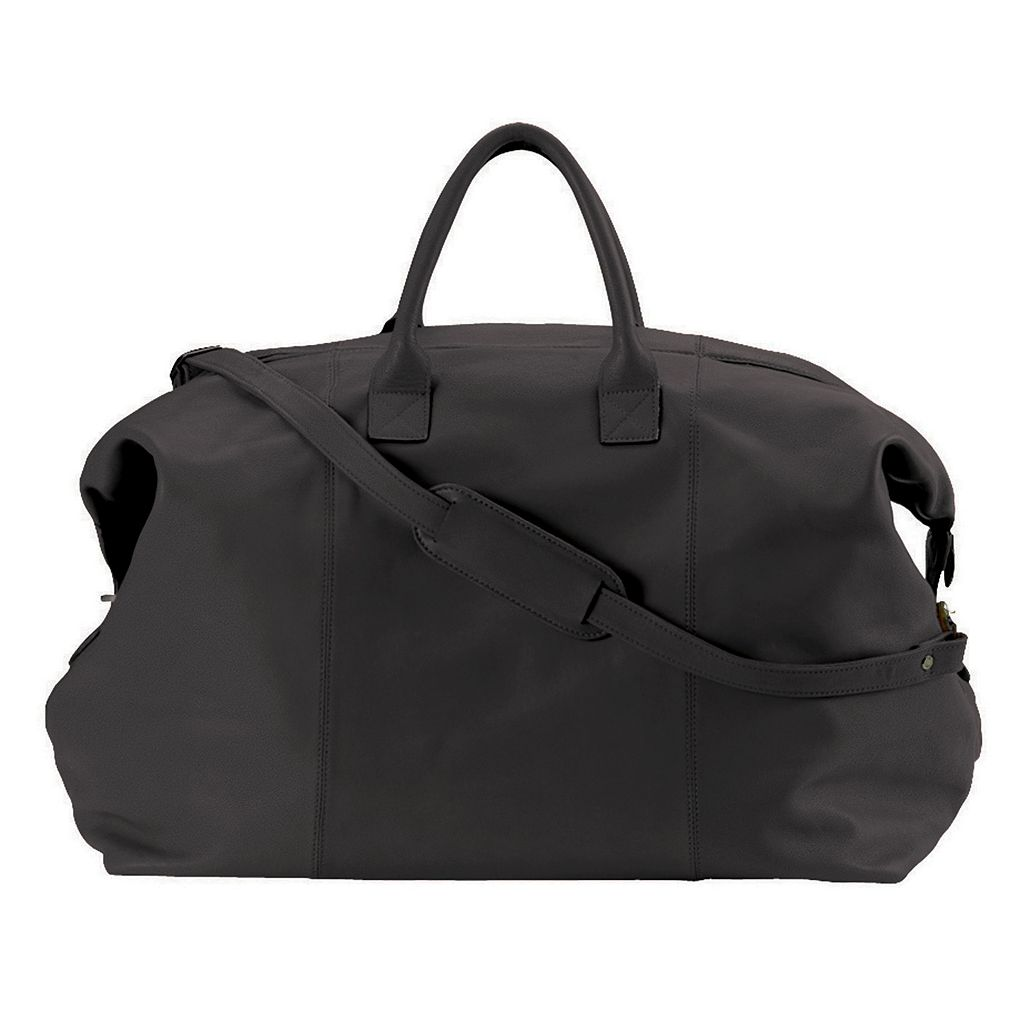 Royce Leather Euro Traveler Duffel Bag