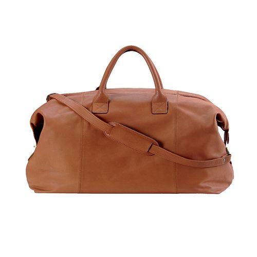 Royce Leather Petite Euro Traveler Duffel Bag