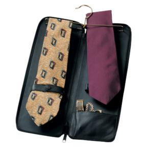 Royce Leather Deluxe Tie Case