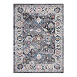 Concord Global Vintage Istanbul Border Area Rug