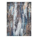 Concord Global Vintage Victoria Abstract Area Rug