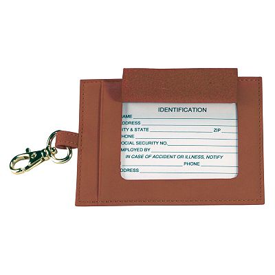 Royce Leather Big Tag Luggage Tag