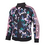 Girls 7-16 adidas Printed Tricot Jacket