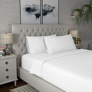 Color Sense 600 Thread Count Wrinkle Resistant Sateen Deep Pocket Cotton Sheet Sets & Pillowcases