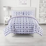 The Big One® Alex Shibori Reversible Plush Comforter Set with Sheets